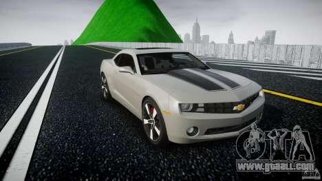 Chevrolet Camaro for GTA 4 back view