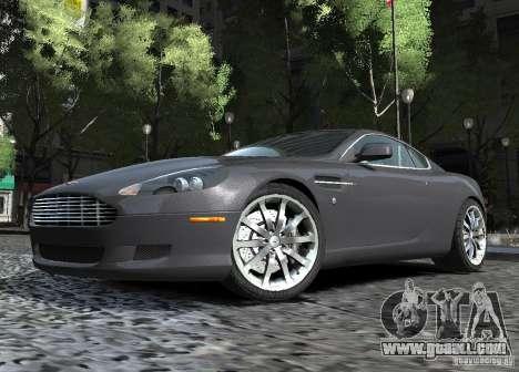 Aston Martin DB9 2008 v 1.0 for GTA 4 inner view