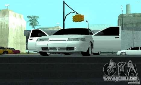 VAZ-2112 for GTA San Andreas upper view