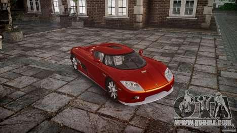 Koenigsegg CCX v1.1 for GTA 4