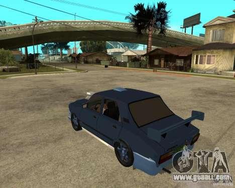 Dacia 1310 tuning for GTA San Andreas left view