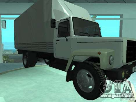 Gaz-3309 Elongatus for GTA San Andreas