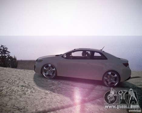 Kia Cerato Koup 2011 for GTA 4 left view