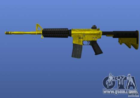 M4A1 for GTA 4