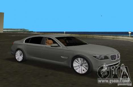 BMW 750 Li for GTA Vice City left view