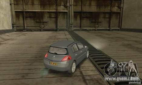 Renault Megane II 2005 for GTA San Andreas