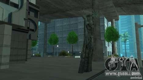 Statue of Skyrim for GTA San Andreas third screenshot