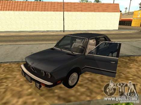 BMW 535is E28 for GTA San Andreas