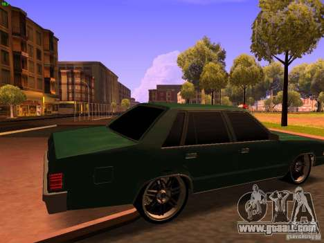 Chevrolet Malibu 1980 for GTA San Andreas left view