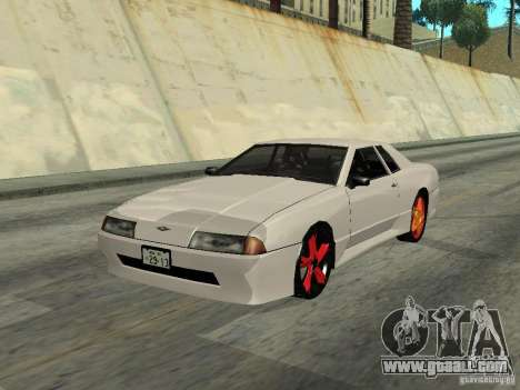 Elegy 29-13 for GTA San Andreas back left view