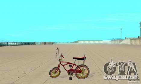 CUSTOM BIKES BMX for GTA San Andreas left view