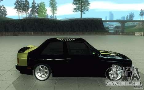 BMW E30 323i for GTA San Andreas left view