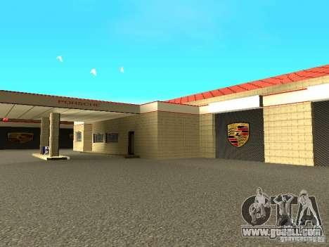 Porsche Garage for GTA San Andreas sixth screenshot