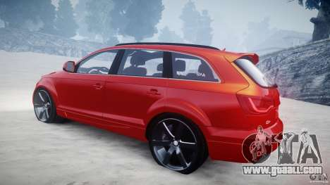 Audi Q7 LED Edit 2009 for GTA 4 side view