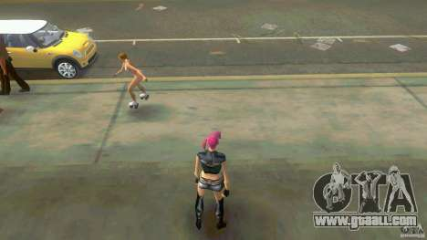 Girl Player mit 11skins for GTA Vice City forth screenshot