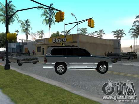 Toyota Land Cruiser 100 VX for GTA San Andreas right view