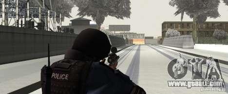 Rifle from GTA IV for GTA San Andreas forth screenshot