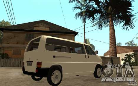 Volkswagen Transporter T4 for GTA San Andreas right view