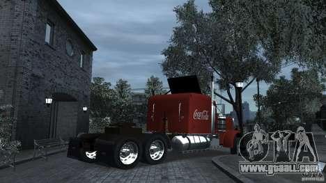 Coca-Cola for GTA 4 back left view