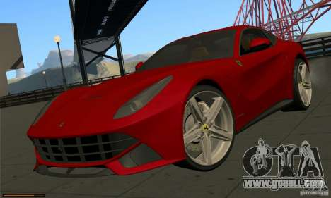Ferrari F12 Berlinetta BETA for GTA San Andreas