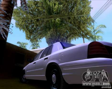 Ford Crown Victoria 2009 Detective for GTA San Andreas side view