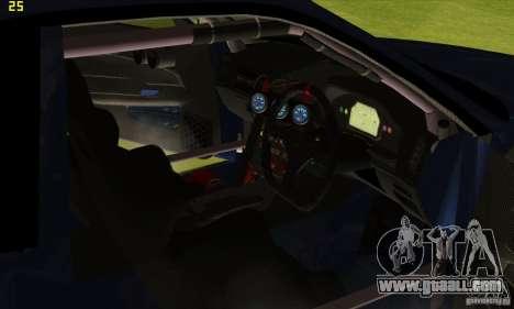 Nissan Skyline R34 GT-R LM for GTA San Andreas wheels