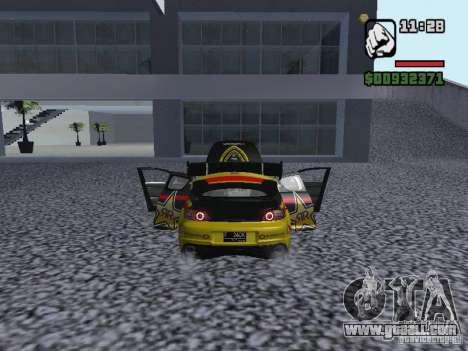 Mazda RX-8 Rockstar for GTA San Andreas back left view
