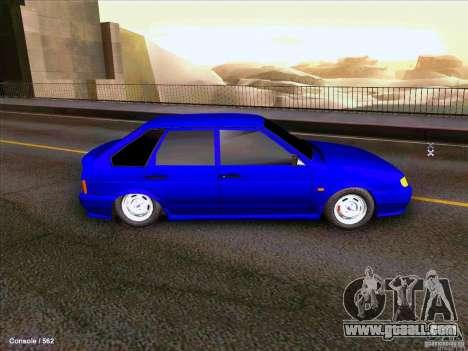 ВАЗ 2114 for GTA San Andreas
