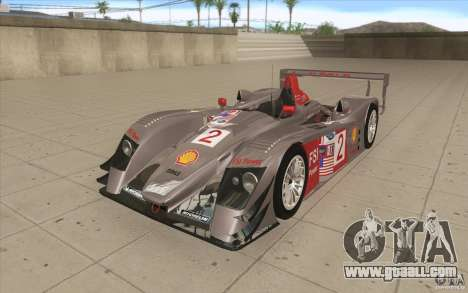 Audi R10 LeMans - Stock for GTA San Andreas