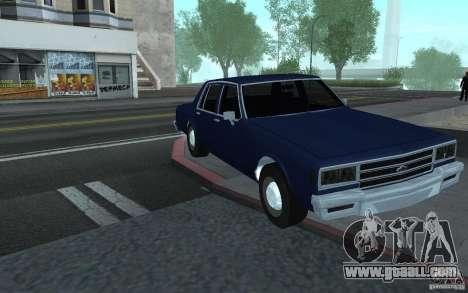 1983 Chevrolet Impala for GTA San Andreas