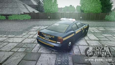 New York State Police Buffalo for GTA 4 side view
