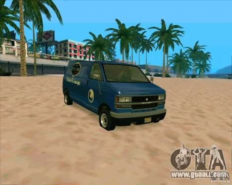 BUGSTARS Burrito from GTA IV for GTA San Andreas left view