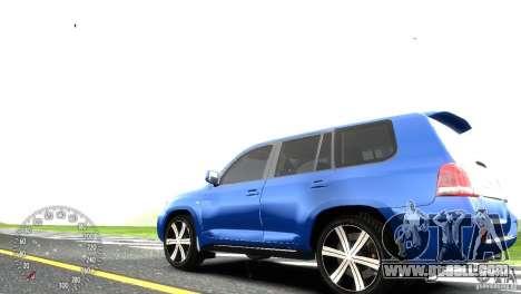 Toyota Land Cruiser 200 RESTALE for GTA 4 back left view