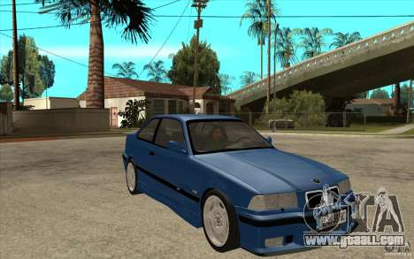 BMW M3 E36 1997 for GTA San Andreas back view