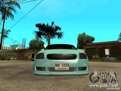 Audi TT for GTA San Andreas right view