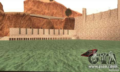 The new dam for GTA San Andreas