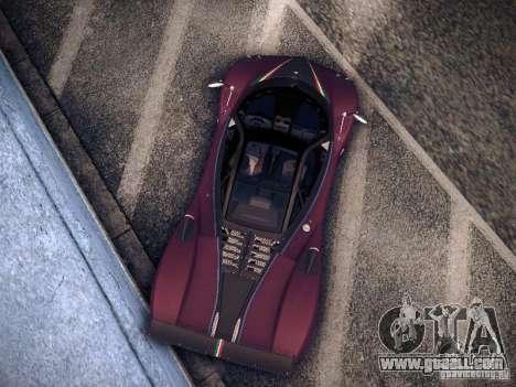 Pagani Zonda Tricolore 2010 for GTA San Andreas