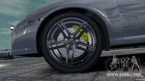 Porsche Targa 4S 2009 for GTA 4 inner view