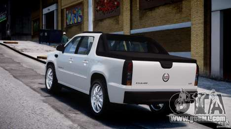 Cadillac Escalade Ext for GTA 4 inner view