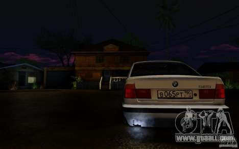 BMW 525 for GTA San Andreas left view