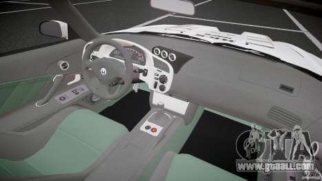 Honda S2000 Tuning 2002 3 Skin calm for GTA 4 back view