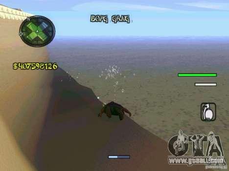 HUD Convenient and easy BETA for GTA San Andreas forth screenshot