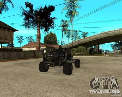 BAJA BUGGY for GTA San Andreas back left view