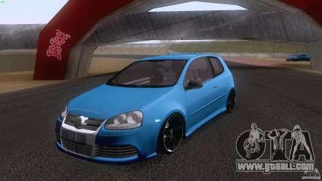 VW Golf 5 R32 2006 StanceWorks for GTA San Andreas