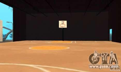Basketball Court v6.0 for GTA San Andreas second screenshot