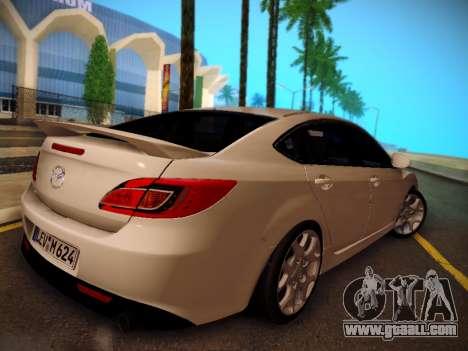 Mazda 6 for GTA San Andreas left view