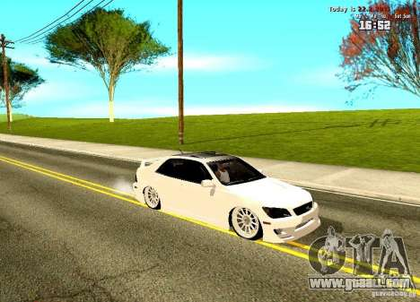 Toyota Altezza for GTA San Andreas left view