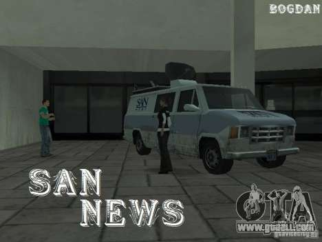 SFnews or the opportunity to give an interview for GTA San Andreas