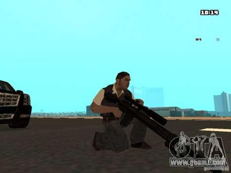 No Chrome Gun for GTA San Andreas third screenshot