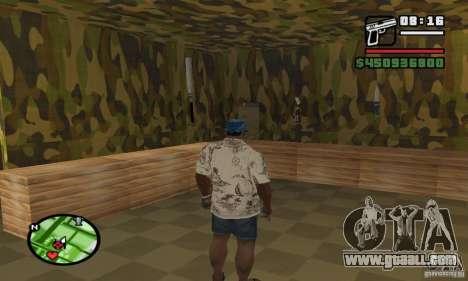 Gun shop on Grove for GTA San Andreas third screenshot